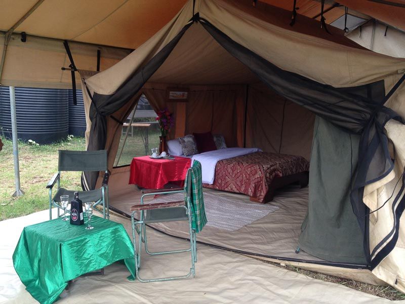Glamping at Beneath the Baobabs