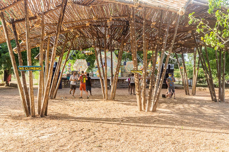 Main Stage at Beneath the Baobabs Festival, Kenya