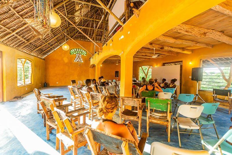 Conference at Beneath the Baobabs Venue, Kenya