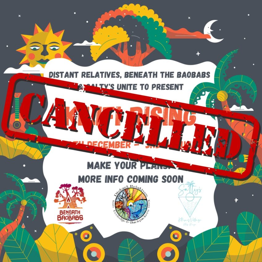 Cancelled New Year Event Poster