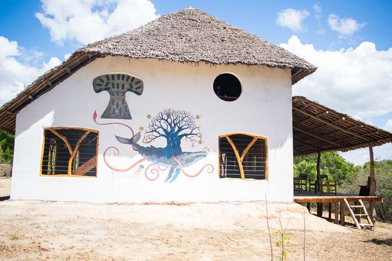 Meeting Hall at Beneath the Baobabs, Kilifi, Kenya