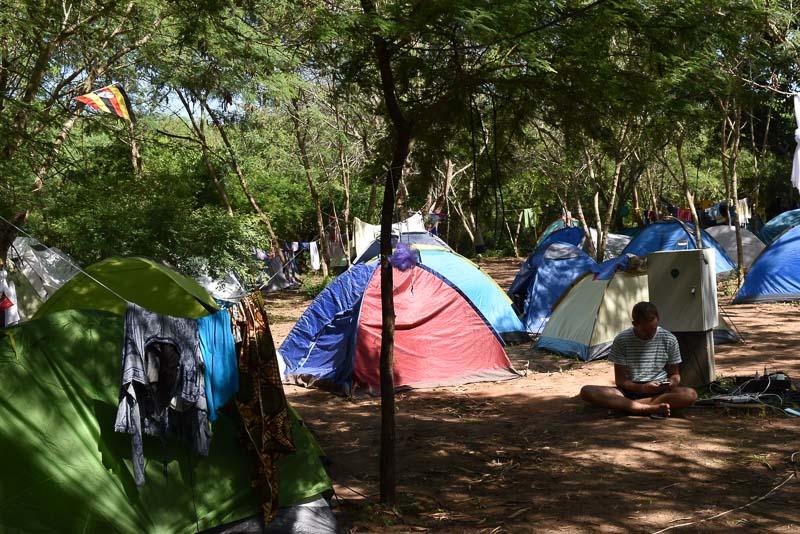 Camping at Beneath the Baobabs, Kenya