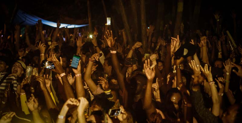East African Festival, Party Goers, Beneath the Baobabs Festival, Kilifi, Kenya
